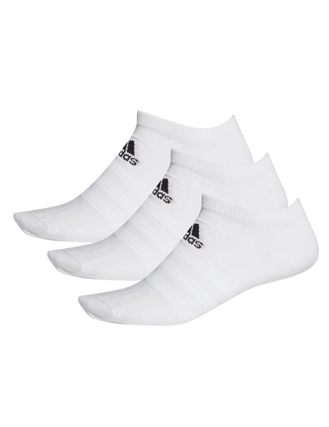 Calcetines Unisex adidas Light Low Blanco