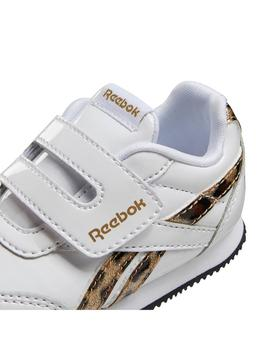 Zapatilla Niña Reebok Royal Blanco/Leopardo