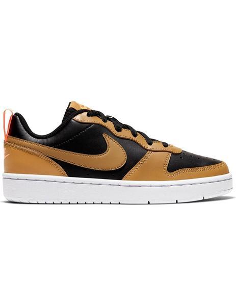 preparar segmento ladrar  Zapatilla Niño Nike Court Borough Marron