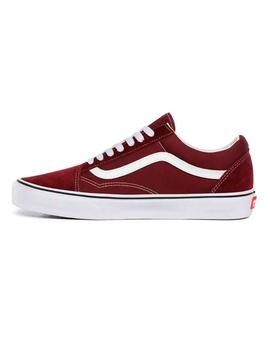 Zapatilla Unisex Vans Old Skool Granate