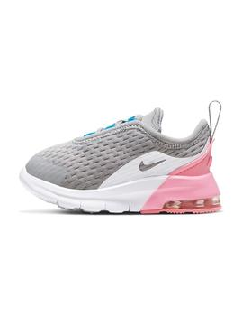 Zapatilla Niña Nike Air Max Motion Gris Rosa