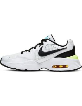 Zapatilla Junior Nike Air Max Fusion Blanca