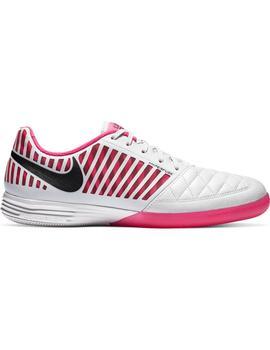 Bota S. Hombre Nike Lunargato II Gris/Rosa