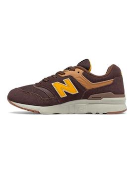 Zapatilla Niño New Blance 997 Marron