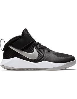 Zapatilla Basket Niño Nike Hustle Negra