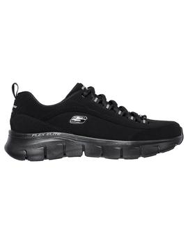 Zapatilla Skechers Mujer Out - About Negro