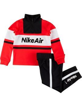 Ambicioso Elevado Grave  Chandal Niño Nike Air Negro Rojo