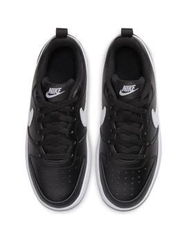 Zapatilla Niño Nike Court Borough Negra