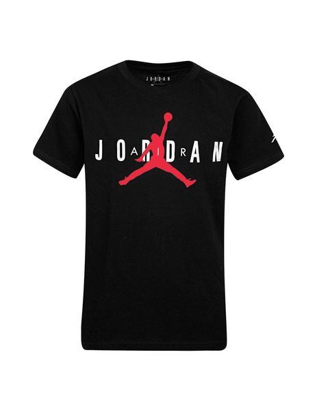 locutor sesión formato  Camiseta Niño Nike Jordan Negra