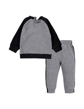 Chandal Niño Nike Fleece Gris Negro