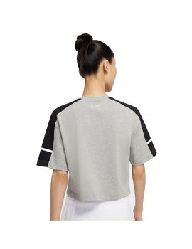 Camiseta Mujer Nike Archive Gris