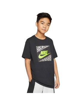 Camiseta Niño Nike Nsw Beach Future Uv Negra