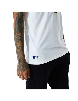 Camiseta Hombre New Era New York Yankees Blanca Am