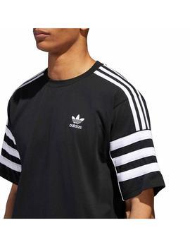 Fontanero Correo aéreo Adiós  Camiseta adidas Negra Hombre
