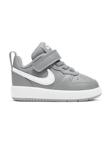 Zapatilla Niñ@ Nike Court Borough Gris/Blanco