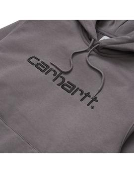 Sudadera Hombre Carhartt WIP Hooded Gris