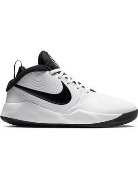 Zapatilla Basket Unisex Nike Team Hustle Blanco