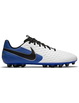 Bota F.Unisex Nike Legend 8 Academy Blanco/Azul