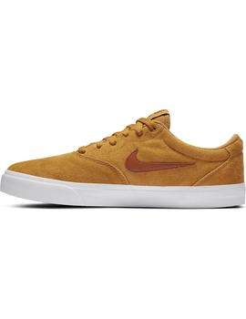 Zapatilla Hombre Nike SB Charge Suede Camel
