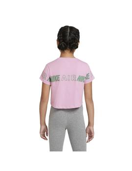Camiseta Niña Nike Air Taping Rosa