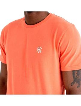 Camiseta New Era New York Yankees Coral Hombre