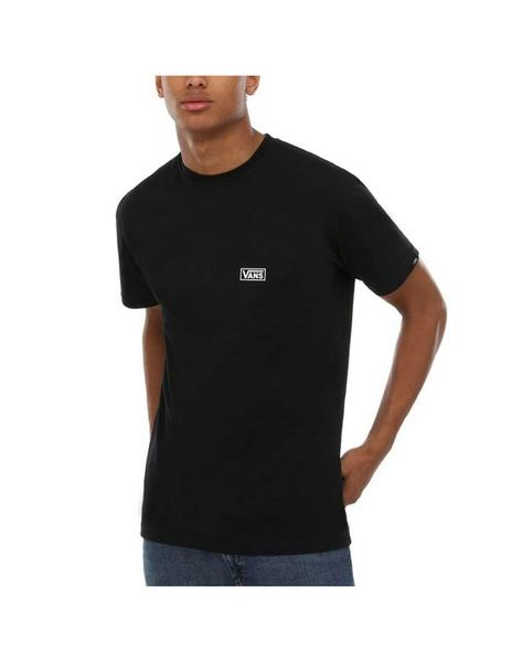 Hombre Negra Distort Camiseta Vans Otw 345AqRjL