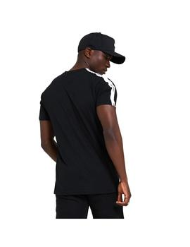 Camiseta Hombre New Era Sleeve Taping Negra