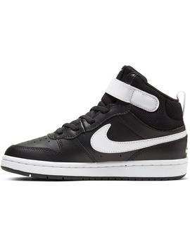 Zapatilla Unisex Nike Court Borough Mid 2 Negro