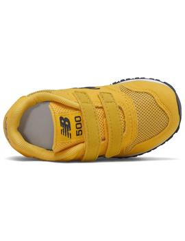 Zapatilla Baby New Balance 500 Amarillo