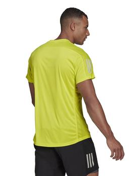 Camiseta Hombre adidas The Run Fluor
