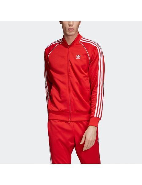 mejor servicio d8a33 adc64 Chaqueta adidas SST Hombre Roja