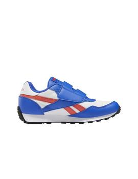 Zapatilla Junior Reebok Royal Rewind Blanco/Azul