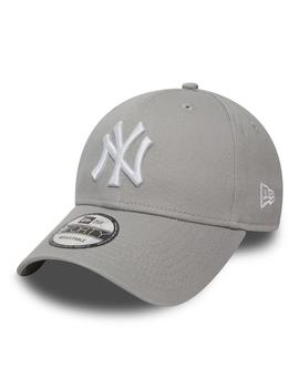Gorra Unisex New Era 940 Leag Basic Gris