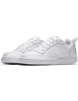 Zapatilla Nike Court Borough Low Junior Mujer