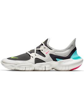 Zapatilla Nike Free Rn 5.0 Gris Mujer