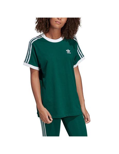 Camiseta adidas 3 Bandas Lila Mujer
