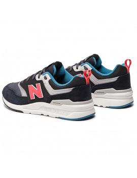 Zapatilla New Balance 997 Junior Negra