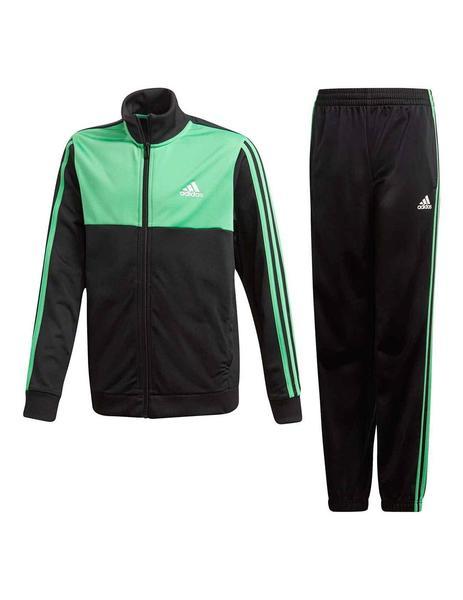 Chandal adidas Tibero Niño Verde y Negro