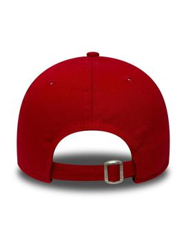 Gorra Niño New Era 940 Leag Basic Roja
