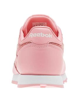 Zapatilla Reebok Leather Classic Niña