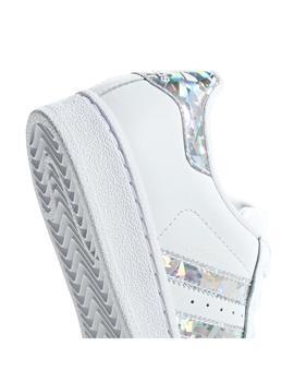 Perth Blackborough Cita Especial  Zapatilla adidas Superstar Plata Niña