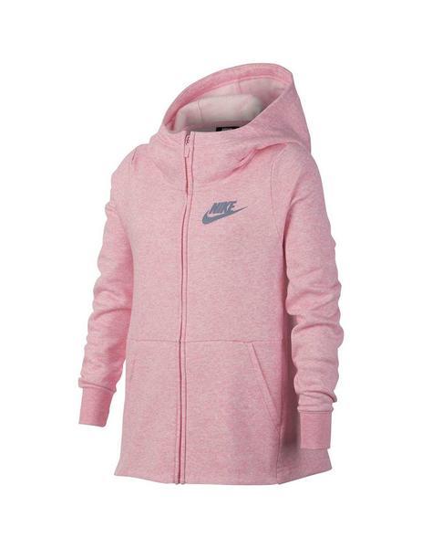 Negligencia facultativo Descarga  Chaqueta con capucha Nike Sportswear Niña