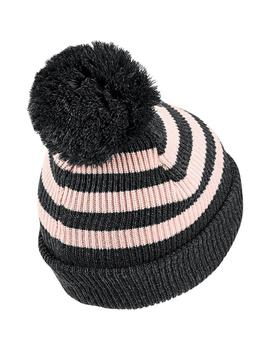 Gorro adidas Striped Salmon Niña