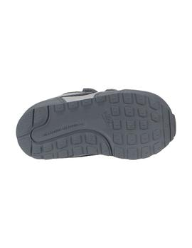 Zapatilla Nike Md Runner Gris Baby