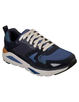 Zapatilla Skerchers Relaxed Fit® Azul Hombre