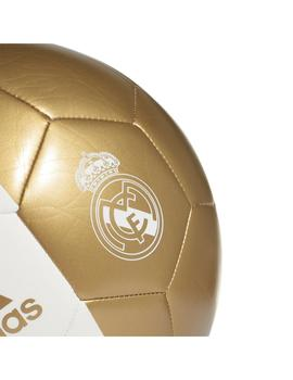 Balon Unisex adidas Real Madrid 2019/20 Blanco Oro