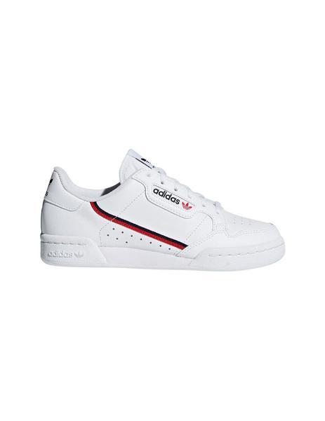Zapatilla Junior Blanca 80 Adidas Continental k0wOnP