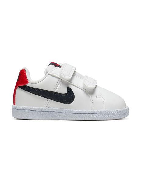 que buen look amplia selección de colores mejores zapatillas de deporte Zapatilla Niño Nike Court Royale Blanco