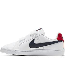 Zapatilla Niño Nike Court Royale Blanco