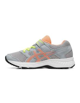 Zapatilla Junior Asics Contend 5 PS Gris